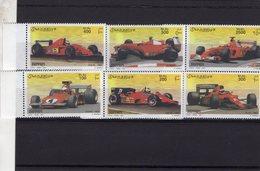 Ferrari F1 Grand Prix Cars  -  Somalia 2001  -  6v  Neuf/Mint/MNH - Automobile