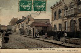 2773-2019     NEUILLY SUR MARNE   LA RUE DE PARIS - Neuilly Sur Marne