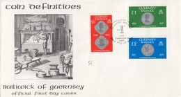 COVER. LETTRE. FDC GUERNSEY 1980 BAILIWICK OF GUERNSEY - Unclassified