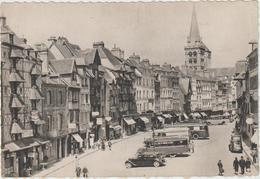 DAV : Calvados :  LISIEUX :  La  Place  Victor  Hugo  ,  Bus, Voiture  Traction - Lisieux