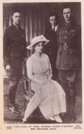 DUKE OF YORK, PRINCES HENRY @ GEORGE  @PRINCESS MARY - Royal Families