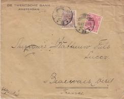 COVER. LETTRE. NEDERLAND. 1920. DE TWENTSCHE BANK AMSTERDAM TO FRANCE - Unclassified