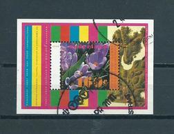 1996 Netherlands Complete M/Sheet Flowers Used/gebruikt/oblitere - Blokken