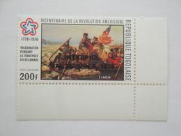 1976 Togo Yv PA 286 ** MNH  Révolution Américaine  Cote 2.40 € Michel 1167 Scott C 273  SG  1124 - Togo (1960-...)