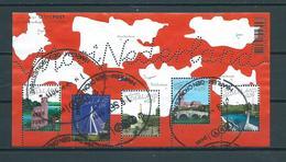 2005 Netherlands Complete M/Sheet Mooi Nederland Used/gebruikt/oblitere - Blokken