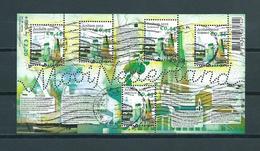 2010 Netherlands Complete M/Sheet Mooi Nederland,Arnhem Used/gebruikt/oblitere - Blokken