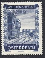 Timbres Neufs** D'autriche, N°716 Yt, Au Profit De La Reconstruction,  Gares, Train - 1945-60 Neufs
