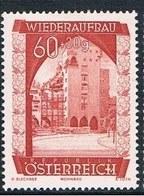 Timbres Neufs** D'autriche, N°717 Yt, Au Profit De La Reconstruction,  Habitations - 1945-60 Neufs