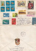 COVER. LETTRE. JAPAN. 1966. REGISTERED SUTAMA YAMANASHI TO FRANCE REDIRIGED  MALI - Unclassified