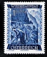 Timbres Neufs** D'autriche, N°720 Yt, Au Profit De La Reconstruction,  Routes - 1945-60 Neufs