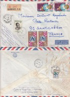 COVER. LETTRE. 1967. REGISTERED MALI BAMAKO TO FRANCE. TAXE - Unclassified