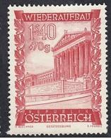 Timbres Neufs** D'autriche, N°721 Yt, Au Profit De La Reconstruction, Parlement - 1945-60 Neufs