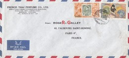 COVER. LETTRE. THAILAND. FRENCH-THAI PERFUME BANGKOK TO FRANCE - Unclassified