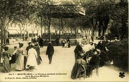 8226 -  Drome -   MONTELIMAR :  Le KIOSQUE Pendant Le Concert De La Musique Militaire   -   édit : Artige .non Circulée - Montelimar