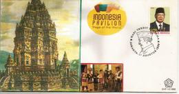 Prambanan Hindu Temple (9th-century) UNESCO World Heritage Site. INDONESIA. FDC - Hinduism