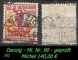 Mi. Nr. 91 - Gebraucht - Geprüft - Danzig