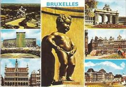 BRUXELLES - Multi-vues - Oblitération De 1982 - Panoramische Zichten, Meerdere Zichten