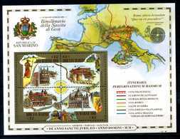 2000 SAN MARINO BF54 MNH ** - Blocchi & Foglietti