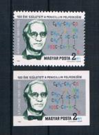 Ungarn 1981 Nobelpreis Mi.Nr. 3504 A+B ** - Ungebraucht