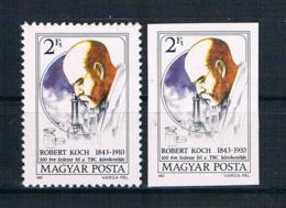 Ungarn 1982 Nobelpreis Mi.Nr. 3536 A+B ** - Ungebraucht