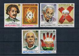 Aitutaki 1980 Nobelpreis Mi.Nr. 334/39 Kpl. Satz ** - Aitutaki