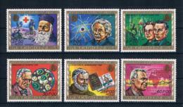Guinea-Bissau 1977 Nobelpreis  Mi.Nr. 426/31 Kpl. Satz ** - Guinea-Bissau