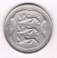 1 KROON 1993 ESTLAND 1618/ - Estonie