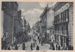 Cartolina - Alcamo - Corso VI Aprile - Trapani