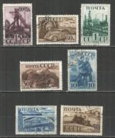 Russia USSR 1941 Year, Used Stamps, Set Mi.# 786-92 - 1923-1991 UdSSR