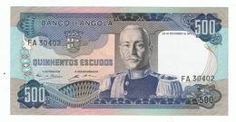 ANGOLA»500 ESCUDOS»1972»PICK- 102»UNC - Angola