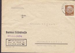 Germany Deutsches Reich BARMER ERSATZKAFFE (Coffee) MÜNCHEN-PASING 1941 Cover Brief - Allemagne