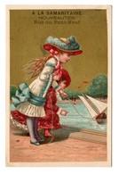 Chromo Imp. Appel, 2-1-19, Filles Avec Bateau, A La Samaritaine - Autres