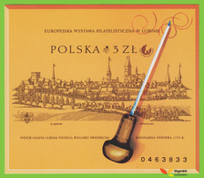Voyo POLAND EURO CUPRUM  2001 F#BL134A ** MINT Imperf. - Blocks & Sheetlets & Panes