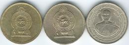 Sri Lanka - 5 Rupees - 2003 - Upasampada (KM169) 2004 (KM148) 2005 (KM148.2a) - Sri Lanka