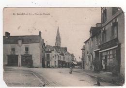 Carte Postale  De Janze -  Place Du Marché  - 63 - Edition Mary Roussiere - Autres Communes