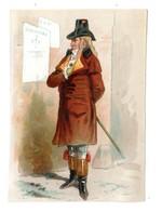 Chromo Imp. Appel, 1-1-17, Hommes Et Femmes En Costumes Du Directoire - Chromo