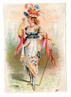 Chromo Imp. Appel, 1-1-16, Merveilleuses Et Incroyables (costumes 18ème Siècle) - Otros