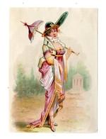 Chromo Imp. Appel, 1-1-16, Merveilleuses Et Incroyables (costumes 18ème Siècle) - Chromo