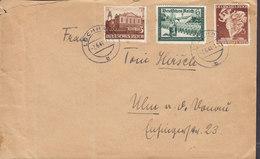 Germany Deutsches Reich LOCHHAM Mult. Franked 1941 Cover Brief ULM - Allemagne