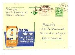 BELGIQUE PUBLIBEL BABY WIT N° 2522 F OBLITERE - Postwaardestukken