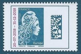 N°5270 Marianne D'Yseult TVP Europe Surchargée 20-07-2018 - 31-12-2018 Neuf** - Frankrijk