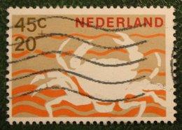45 + 10 Ct Zomerzegel Summer Sommer NVPH 881 (Mi 877) 1967 Gestempeld / USED NEDERLAND / NIEDERLANDE - Periode 1949-1980 (Juliana)