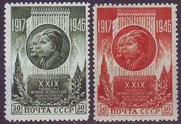 ROSSIA - RUSSIA - Mi. 1074/75  LENIN  STALIN  - **MNH - 1945 - 1923-1991 USSR