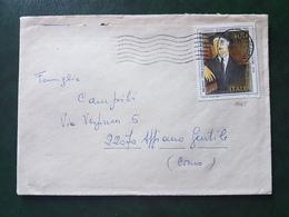 (18753) STORIA POSTALE ITALIA 1984 - 1946-.. Republiek