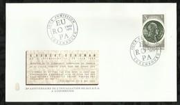 LUXEMBOURG . FDC  . EUROPA . ROBERT SCHUMAN . 02 MAI 1972 . - FDC