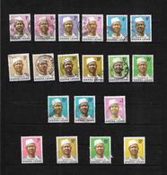 Sierra Leone, 1972 Pres Siaka Stevens Selection To 1l Mint & Used (7422) - Sierra Leone (1961-...)