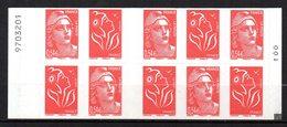 France Carnet Usage Courant Lamouche Carré Noir + N° De Comptage N° 1514  / 3975 Neuf XX MNH - Postzegelboekjes