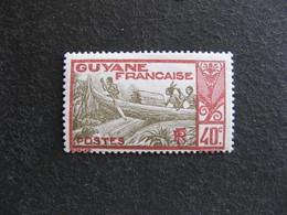 Guyane: TB N°118,  Neuf X. - Frans-Guyana (1886-1949)