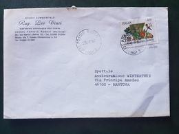 (18756) STORIA POSTALE ITALIA 1984 - 1946-.. Republiek