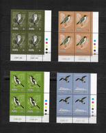 Malta, 1981 Birds, Complete Series In MNH Corner Blocks Of Four (7471) - Malta